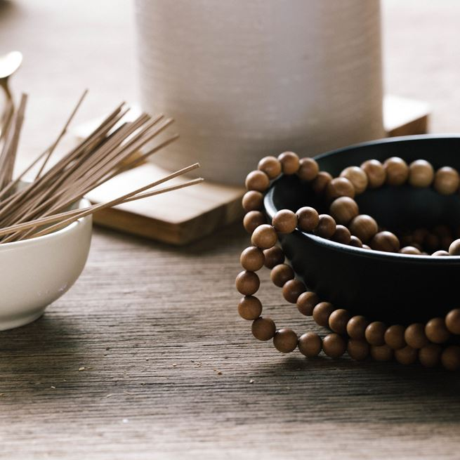 Quintis Sandalwood Beads and Incense